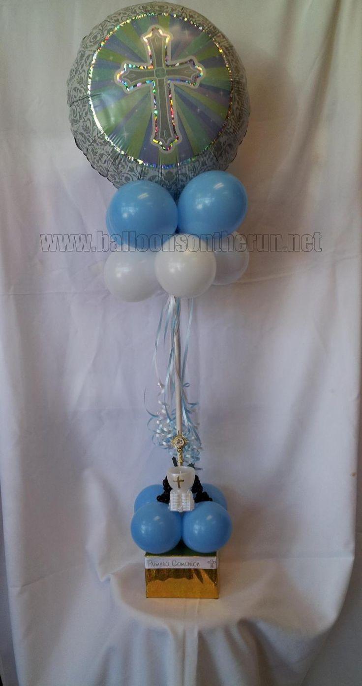 First communion balloon decorations