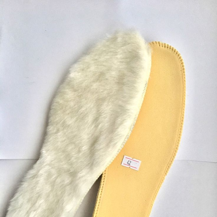 Warm fur insoles made by sheepskin fur, just added!!