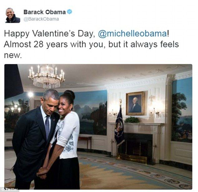 The Obamas Share Touching Valentines Day Tributes To Each Other
