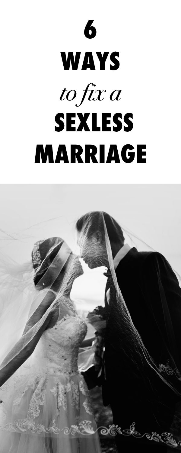 How to Fix a Sexless Marriage