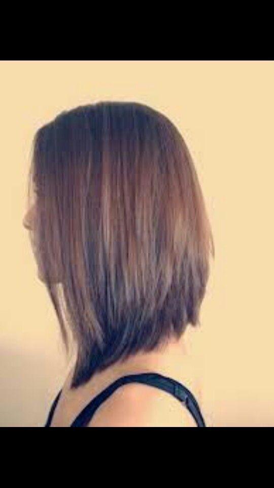 Elegante Frisuren Inverted Bob mittlerer Länge,  #Bob #elegante #Frisuren #Inverted #lange #m...