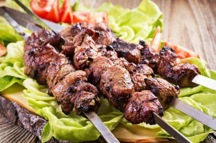 Свиной шашлык по-абхазски / Простые рецепты