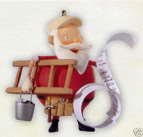 Hallmark 2008 Honey Do Santa Home Repair Christmas