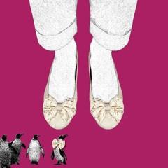 Stasia Willow Flat Shoes- Artwork