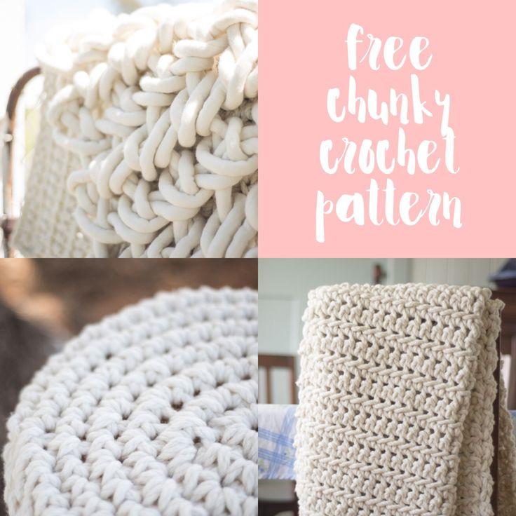 93 best super chunky crochet and knitting images on Pinterest ...