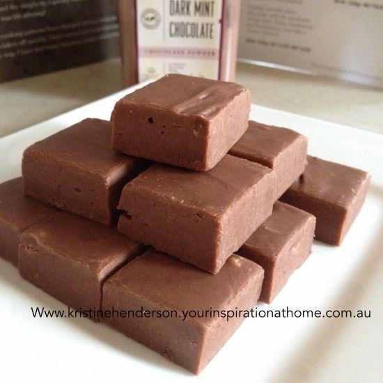 Five+Minute+Chocolate+Fudge