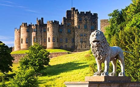 This is where i'm getting married. The Alnwick Castle aka the real Hogwarts castle!