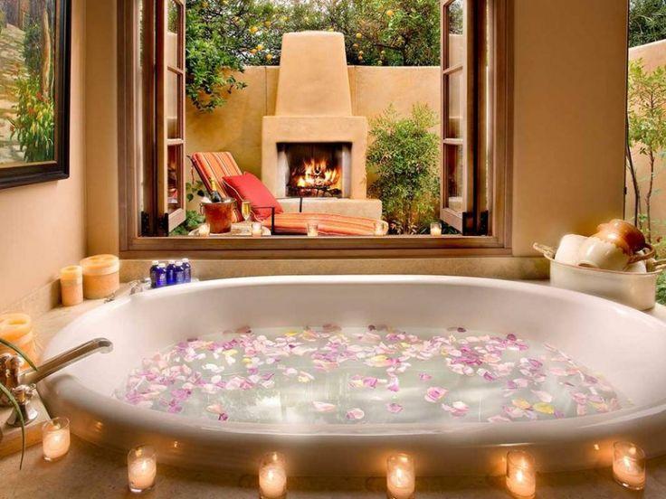 10 besten Badewanne Bilder auf Pinterest Badewannen, Badezimmer - grandiose und romantische interieur design ideen