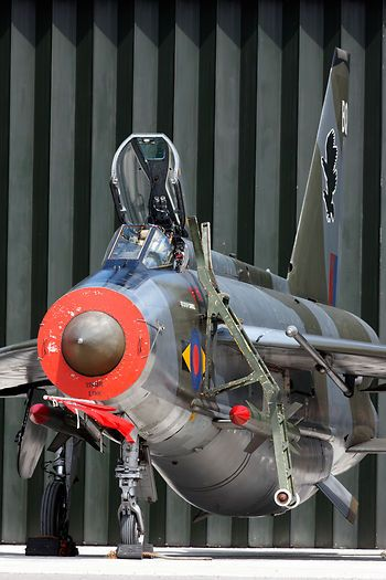 English Electric Lightning F6  XS904 at Bruntingthorpe aerodrome during the Cold War Jets Day 3rd May 2009