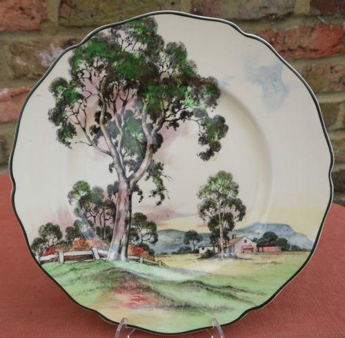 Royal-Doulton-D5506-Gum-Trees-Plate