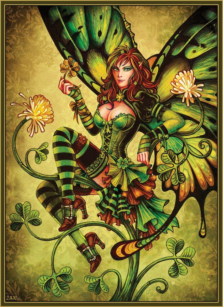 Clover Fairy ~ Candra