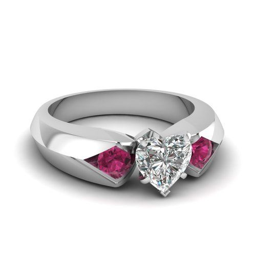 Pink sapphires... that color, wow!