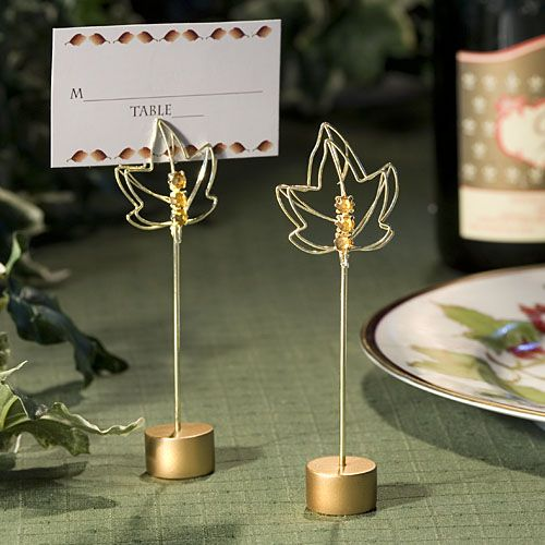 Fall Themed #Wedding Place Card Holders: $2.15