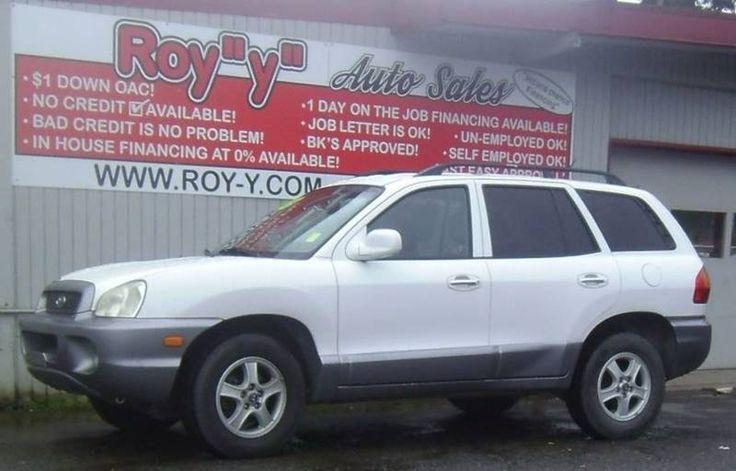 2004 Hyundai Santa Fe AWD GLS 4dr SUV In Spanaway WA - Roy Y Auto Sales
