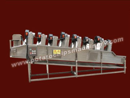 Potato chips deoiling machine low oil consumption save potato chips manufacturers lots money. This potato chips de-oiling machine can be also used as other fried food de oiling machine., compact design and easy operation make it suitable in various fried food process. Fried potato chips deoiling machine have four models (8-10 kg/batch, 15-20 kg/batch, 25-30 kg/batch, 35-40 kg/batch) with different capacity for your reference.