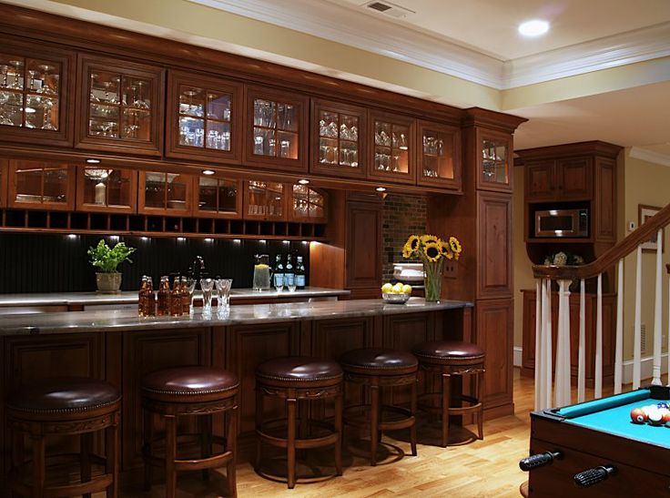 Does This Super Luxurious Basement Bar Remind Anyone Else Of Cheers? The  Good News Is