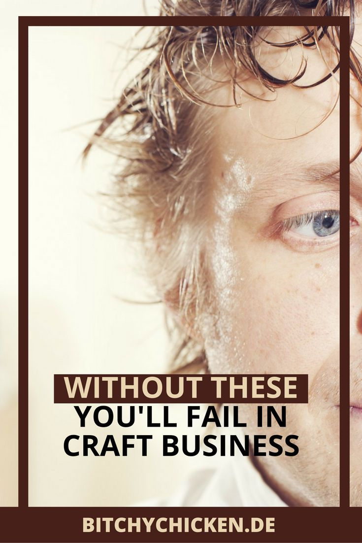 Learn how to fail in craft business if you disregard this post. If you choose not to, then read this post now and learn a lot from a real craft business owner. Click here.