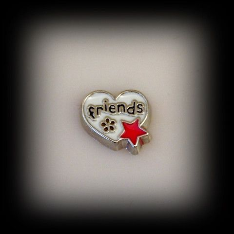 Friends Floating Charm | Latest fashion jewellery from around the world