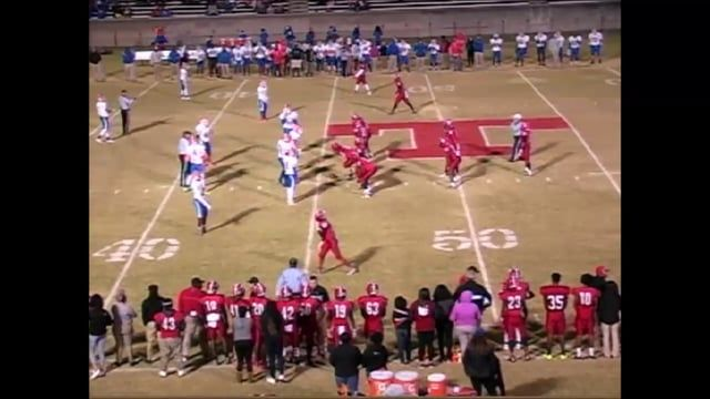 North Carolina high school football. Playoff spot on the line.