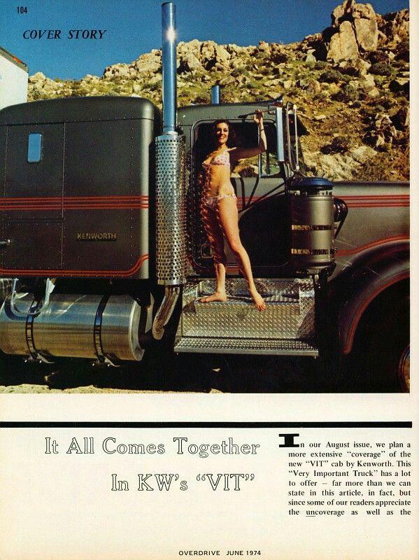 Overdrive Magazine Cool Old Trucks Pinterest
