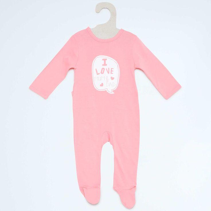 Set van 3 pyjama's van 100% katoen                                                                                                                                                                                                 roze Meisjes babykleding