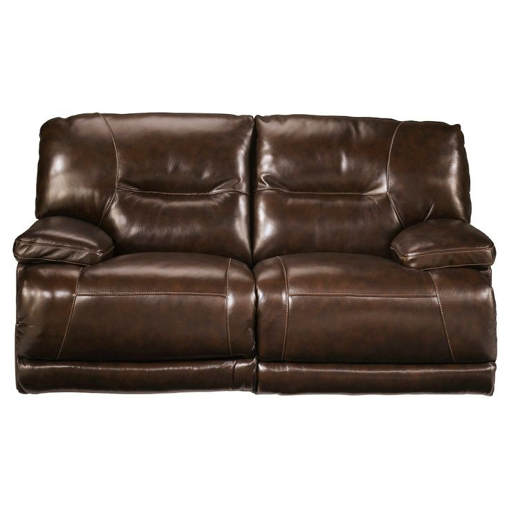 Exhilaration Reclining Loveseat Chocolate (Brown) - Signature Design by Ashley