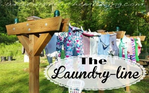 Building a clothesline is easy and can be constructed in many different ways; I wanted to show you how easy our DIY clothesline was to make - because freshly line dried clothes brings the scent of freshness indoors!