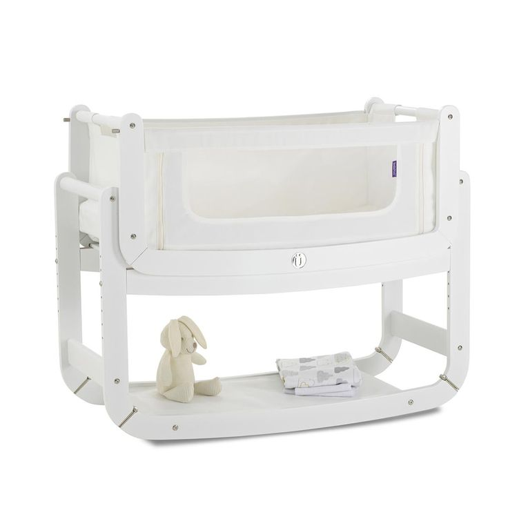 Looking for a bedside cot? NEW white SnuzPod 3 in 1 Bedside Crib, from just £169! Comfort, feed and bond next to your baby, a safe alternative to bed-sharing