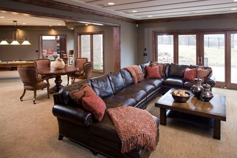 23 Best Ideas About Leather Sectional On Pinterest