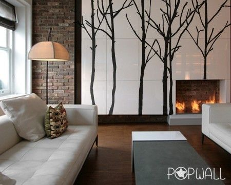 pop wall tree decal - worthily of living room for fun? Study?