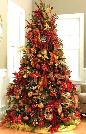 nice arrangement for a classy looking tree