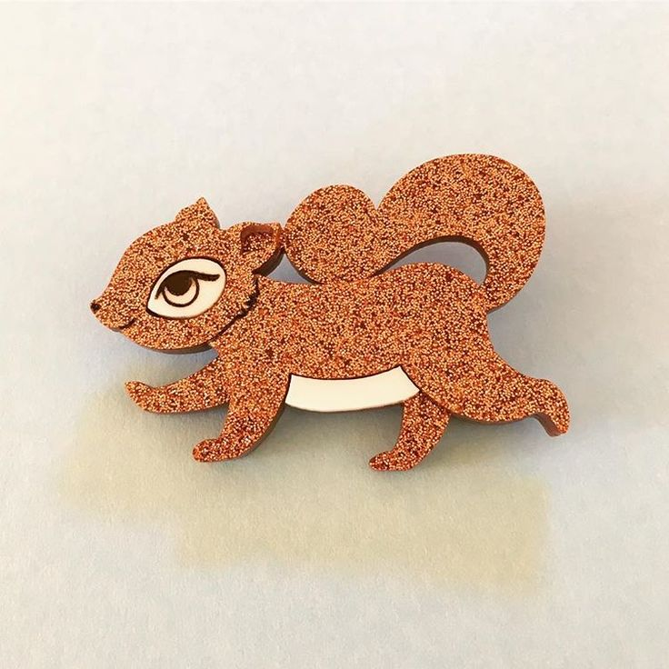 Peppy Chapette - Squirrelling Away Fay in Bronze Glitter
