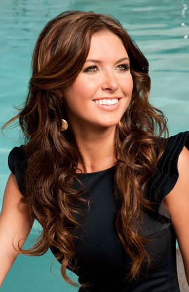 Lovely curls - Audrina Patridge (my other apparent celebrity look-alike).