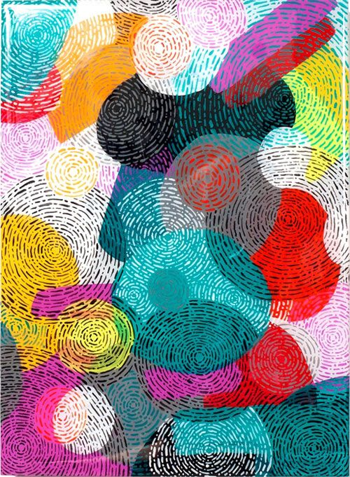 Mike Perry continues to make excellent textural work.