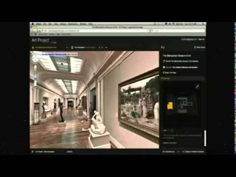 Museum van de toekomst verandert tijd en ruimte: museum bij jou in de woonkamer. TED-talk.