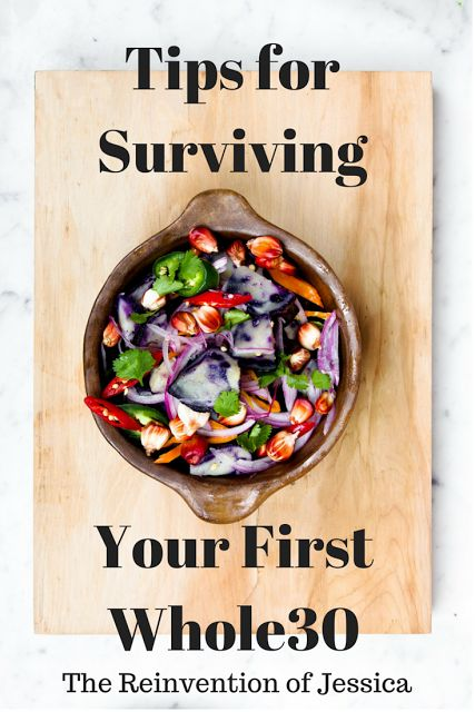 Tips for Surviving Your First Whole30