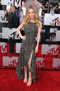 Leslie Mann at the 2014 MTV Movie Awards