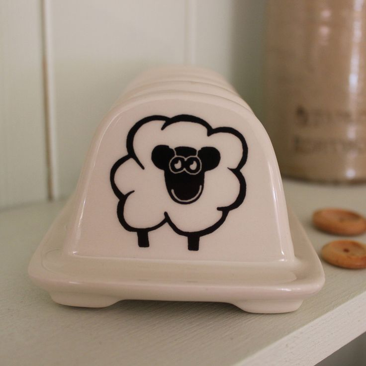 Happy Sheep Toast Rack #gifts #china #mugs #kitchenware