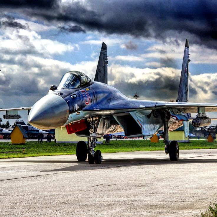 "Russian Air Force Sukhoi ""Su-35S Flanker-E."""