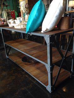 El nuevo mueble de Madera y Hierro 14,950.00 pesomex madera-hierro@hotmail.com