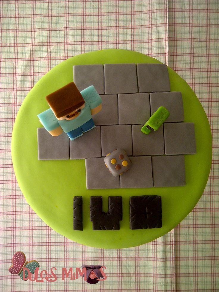 8 Best Torta Minecraft Images On Pinterest Birthday