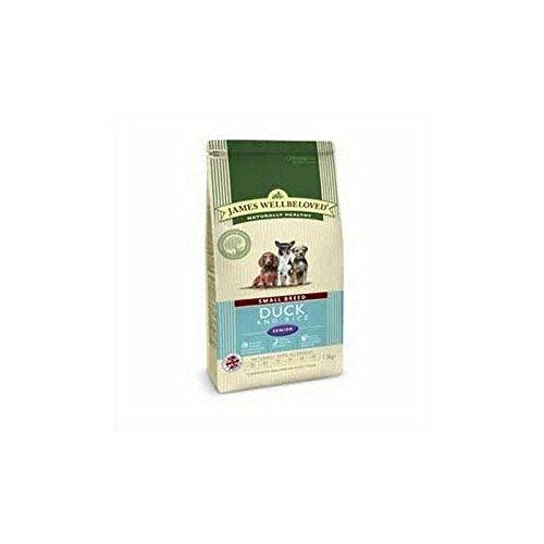 James Wellbeloved Dog Food Duck and Rice Senior Small Breed (1.5kg) (Pack of 4) *** To view further for this item, visit the image link.