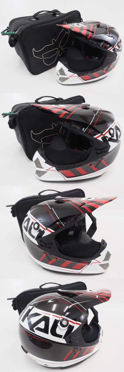 Other Outdoor Sports 159048: New! Kali Protectives Shiva Speed Full Face Carbon Helmet (Machine Black Red) -> BUY IT NOW ONLY: $219.99 on eBay!