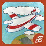 In deze vrolijk geïllustreerde prentenboek-app vol interactiviteit over Pien en Patrick, zie je alles wat je tegen komt tijdens een vliegreis. Dus pak je koffer maar in en hou je knuffel goed vast, want we gaan vliegen!!  Met het vliegtuig gaan is een spannend avontuur voor jonge kinderen. Aan de hand van het verhaal van Pien en Patrick gaan vliegen kunnen kinderen zich voorbereiden op en vermaken tijdens de reis. Vanaf 3 jaar.