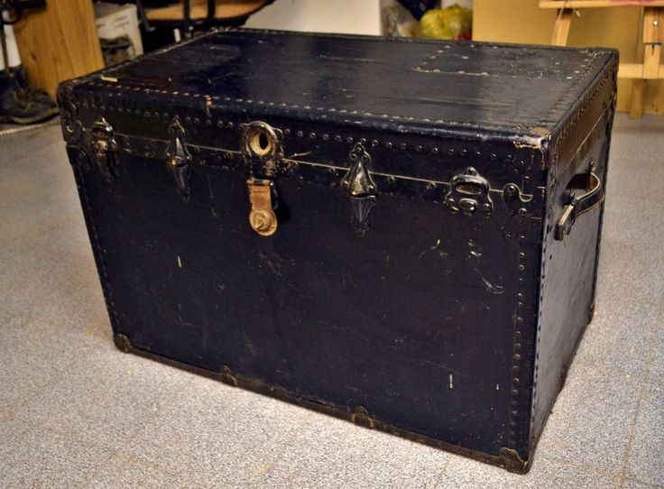 An Antique Trunk With History