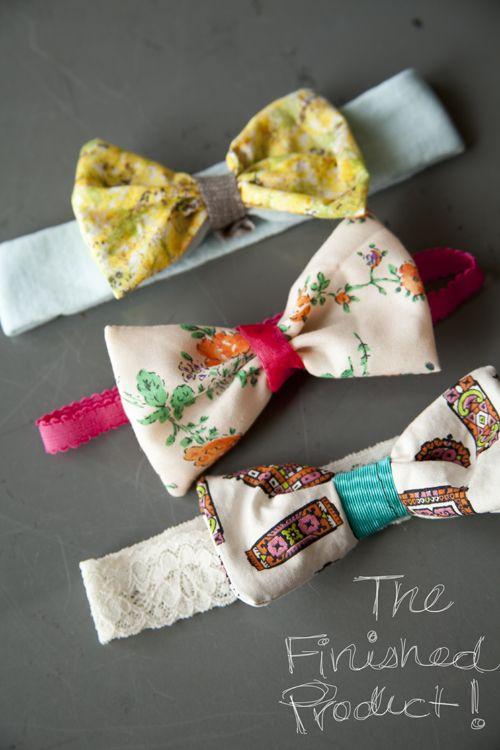 Lonie Mae Blog: DIY Baby Headbands... Must make ASAP!!!