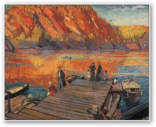 Arthur Lismer   (1895-1969)   Autumn, Bon Echo,  1923 Group of Seven