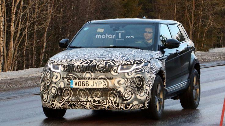 2019 Range Rover Evoque facelift