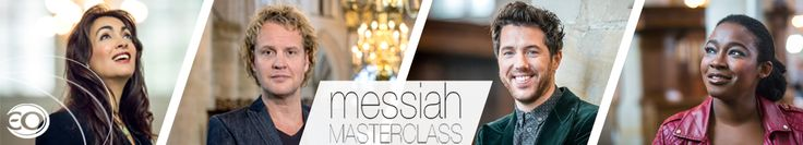 In het programma 'Messiah Masterclass' gaan vier bekende Nederlandse artiesten de uitdaging van hun carrière aan. Leona Philippo, cabaretier Remco Veldhuis, Loïs Lane-zangeres Monique Klemann en musicalacteur William Spaaij zetten alles op alles om een gedeelte uit de Messiah van Händel onder de knie te krijgen. begeleid door Sigrid van der Linden en Maarten Koningsberger: 21, 22 en 23 dec NPO2. http://www.eo.nl/geloven/programma/messiah-masterclass/?gclid=CIiZxo7Y7MkCFWsJwwodVwgFdQ