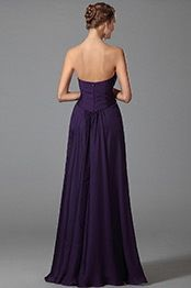 Благородное Вечернее Выпускное Платье в Стиле Ампир (00152406)